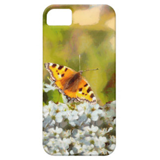 Butterfly on Blossom iPhone 5 Case