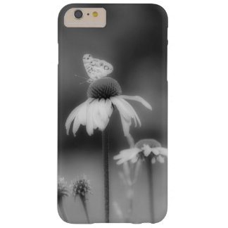 Butterfly on Coneflower Black & White Photography Barely There iPhone 6 Plus Case