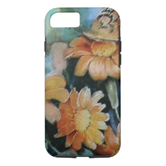 Butterfly on Daisy iPhone 7 Case