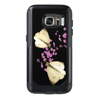 Butterfly on Flowers OtterBox Galaxy S7 Case