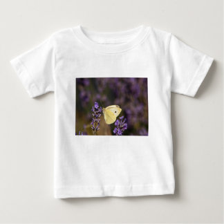 Butterfly on lavender baby T-Shirt