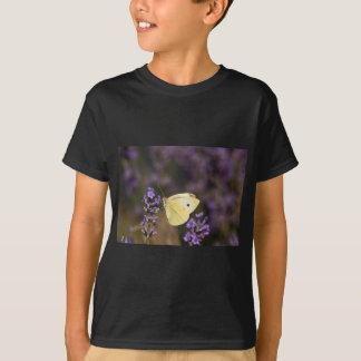 Butterfly on lavender T-Shirt