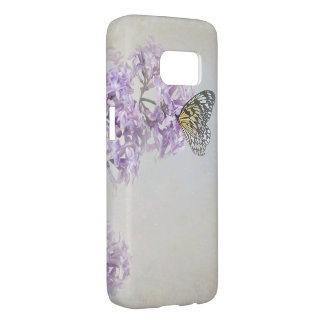 butterfly on lilacs samsung galaxy s7 case