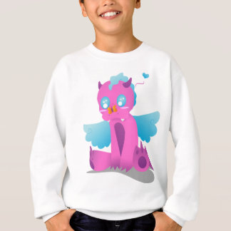 Butterfly on Nose Spiffy The Dragon Sweatshirt