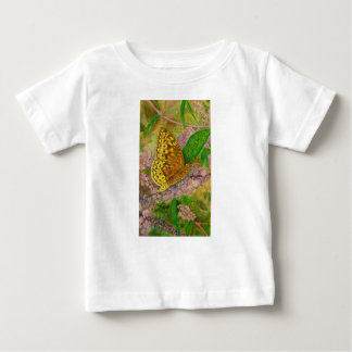 Butterfly on purple butterfly bush Buddleia david Baby T-Shirt