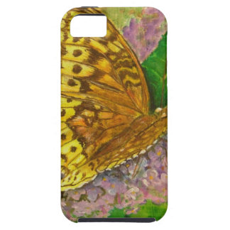 Butterfly on purple butterfly bush Buddleia david iPhone 5 Covers