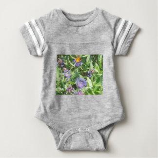 Butterfly on Purple Coneflower Baby Bodysuit
