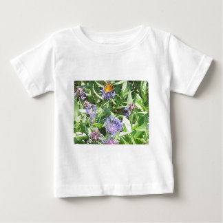 Butterfly on Purple Coneflower Baby T-Shirt