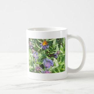 Butterfly on Purple Coneflower Coffee Mug