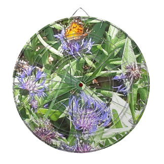 Butterfly on Purple Coneflower Dartboard
