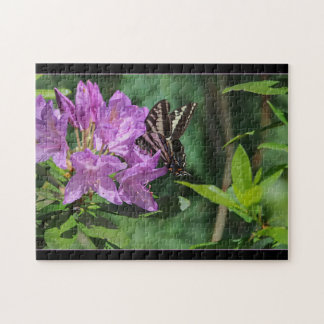 Butterfly on Rhododendron -  Puzzle