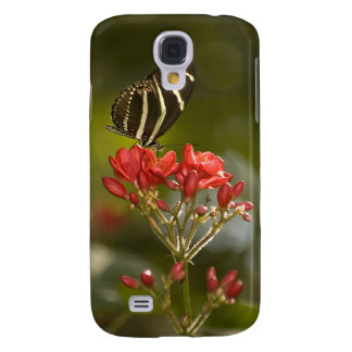 Butterfly on Royal Poinciana Samsung Galaxy S4 Cover