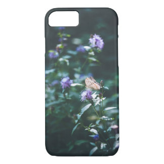 Butterfly on the wild flowers Case-Mate iPhone case