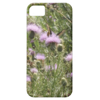 Butterfly On Thistle iPhone 5 Case