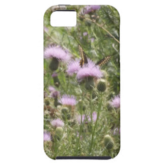 Butterfly On Thistle iPhone 5 Cover