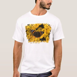 Butterfly on yellow asters T-Shirt