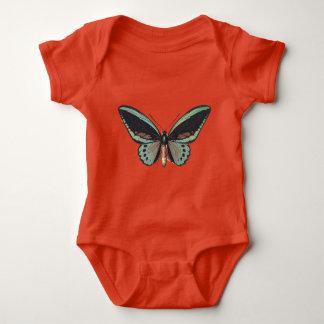Butterfly orange Baby American Apparel Shirt