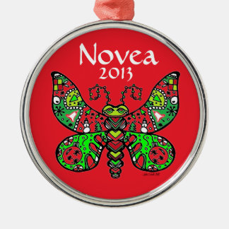 Butterfly Ornament  RED *customize!**