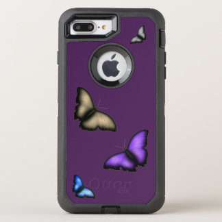 Butterfly OtterBox Defender iPhone 8 Plus/7 Plus Case