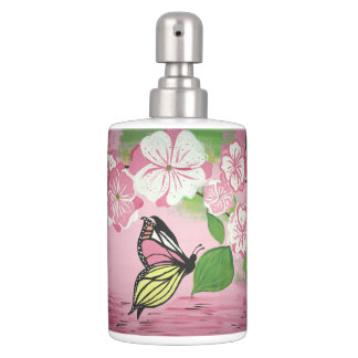 Butterfly over Water Bath Set