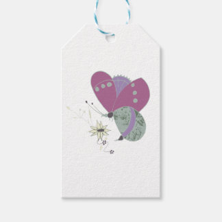 butterfly pack of gift tags