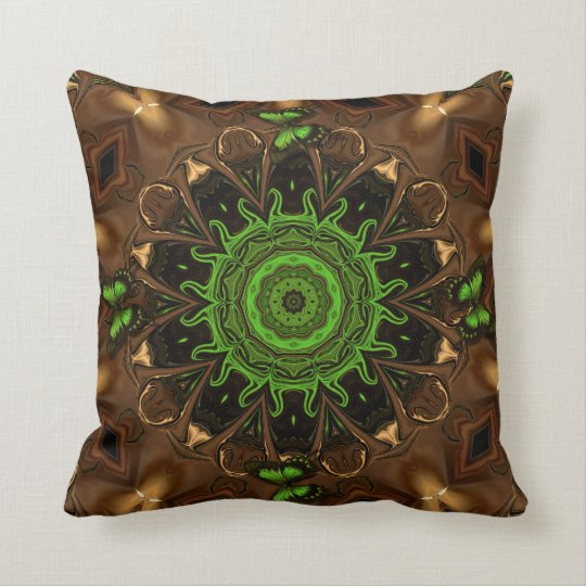 Butterfly Palace. Throw Pillow