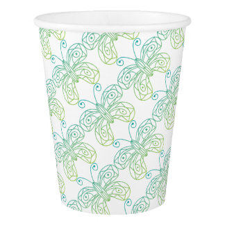 Butterfly Paper Cup