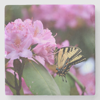 Butterfly Paradise Stone Coaster