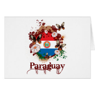 Butterfly Paraguay Card