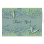 Butterfly Pastel Floral Thank You Cards