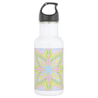 Butterfly Pastel Mandala 532 Ml Water Bottle