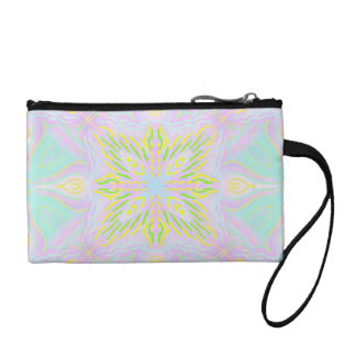 Butterfly Pastel Mandala Coin Purse