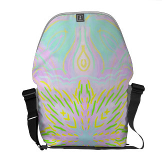 Butterfly Pastel Mandala Courier Bags