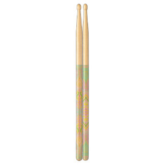 Butterfly Pastel Mandala Drumsticks