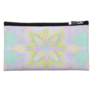 Butterfly Pastel Mandala Makeup Bag