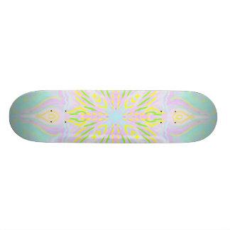 Butterfly Pastel Mandala Skateboard