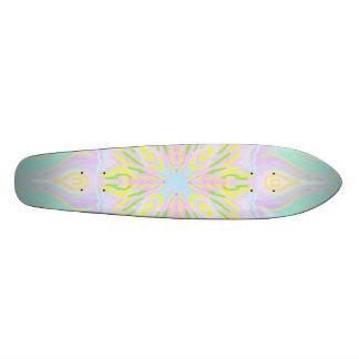 Butterfly Pastel Mandala Skateboards