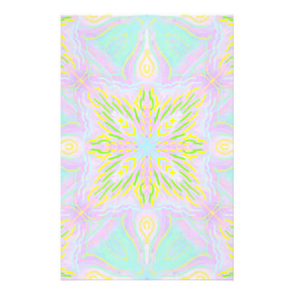Butterfly Pastel Mandala Stationery