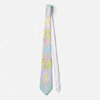 Butterfly Pastel Mandala Tie