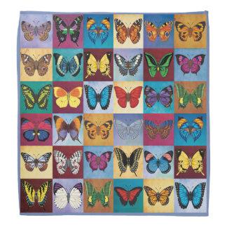 Butterfly Patchwork Bandana
