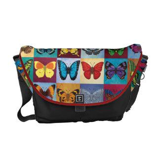 Butterfly Patchwork Commuter Bag