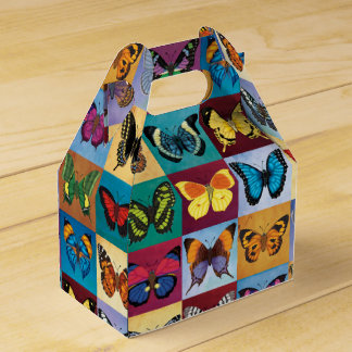 Butterfly Patchwork Favor Box