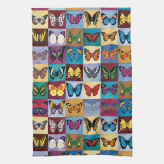 Butterfly Patchwork Kitchen Towel