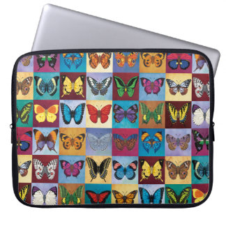 Butterfly Patchwork Laptop Sleeve