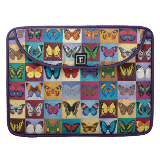 Butterfly Patchwork Sleeve For MacBook Pro