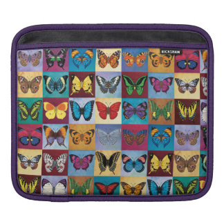 Butterfly Patchwork Sleeves For iPads