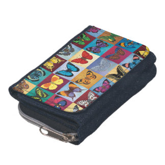 Butterfly Patchwork Wallet