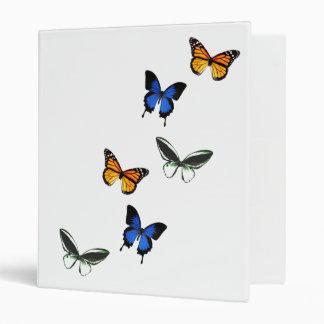 """Butterfly Pattern 1"""" Binder"""