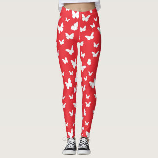 Butterfly pattern 2 leggings