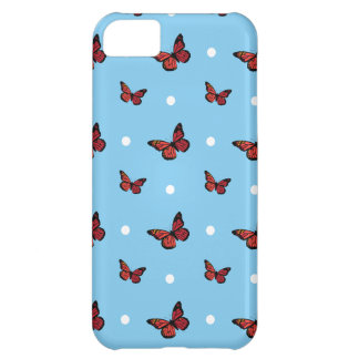 Butterfly pattern iPhone 5C cases